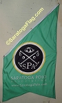 .SARATOGA POLO BANNERS- 5FT x 3FT Angle-Top